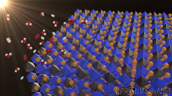 New Material for Splitting Water