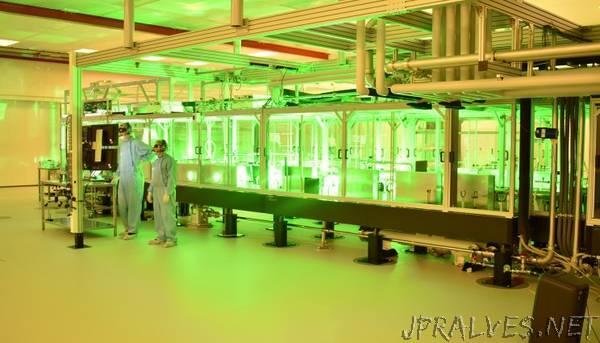 LLNL-developed petawatt laser system fully integrated, operational at ELI Beamlines