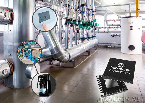 Increase System Performance in Closed-loop Control Applications with New PIC and AVR MCUs