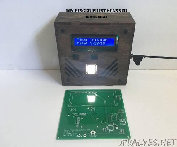 Fingerprint Scanner Class Attendance System (GT-521F32)