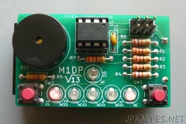 Minimalistic 1D Pong