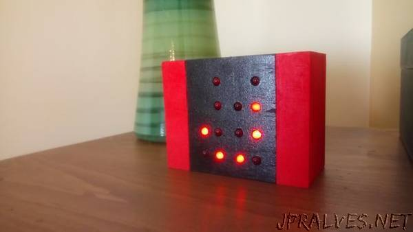 Simple Binary Clock Using Attiny85