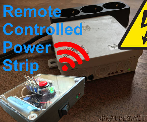 Remote Controlled Power Strip