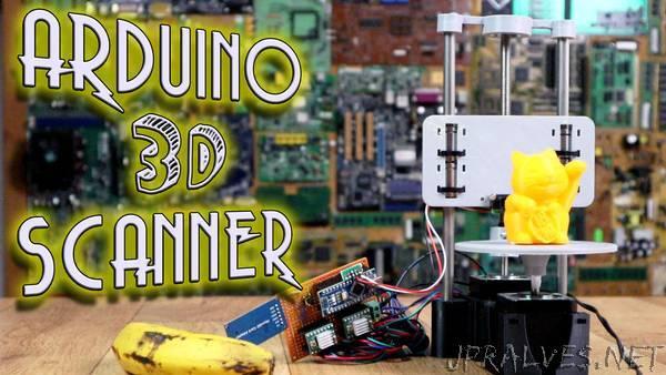 3D Scanner - Arduino + Step motors