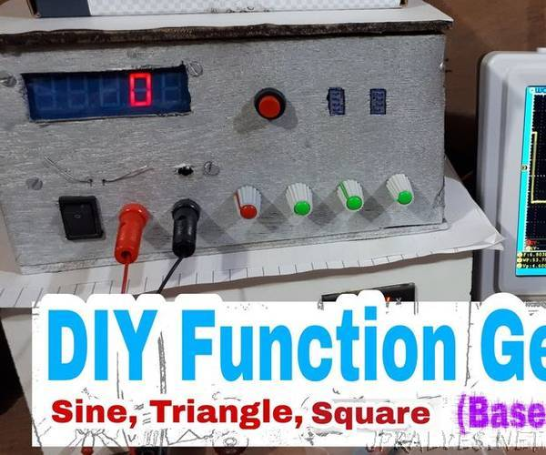 DIY Function Generator (ICL8038) 0 Hz - 400Khz