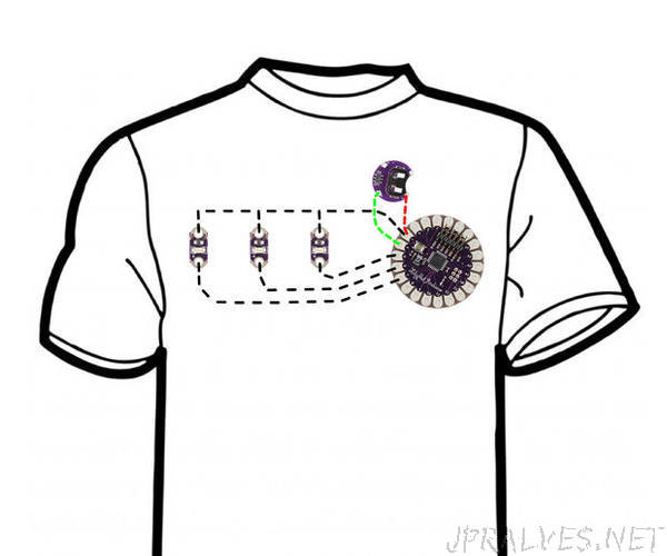 Knight Rider LED T Shirt
