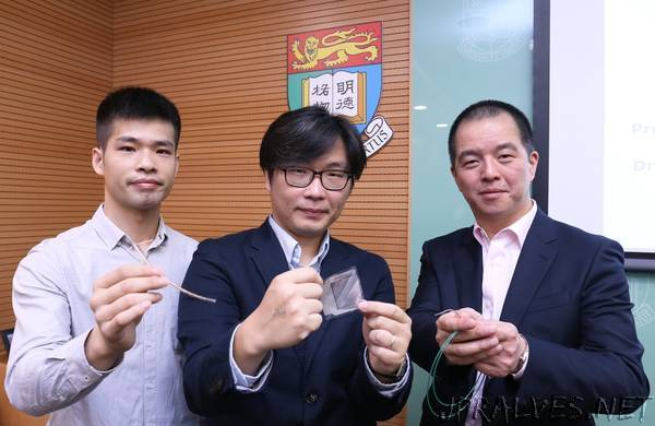 HKU Engineering and Medicine collaborate and develop a real-time ultraflexible sensor that makes inflammation testing and curing 30 times faster