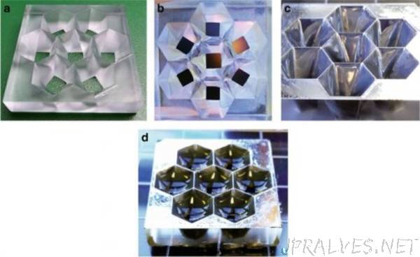 3D Printed Optics with Nano Meter Scale Surface Roughness