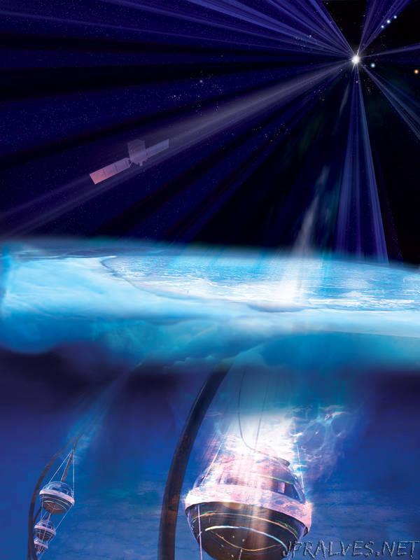 NASA's Fermi Traces Source of Cosmic Neutrino to Monster Black Hole