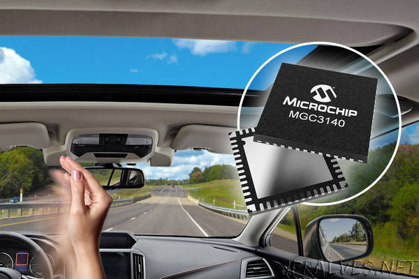 Reduce Driver Distraction with Automotive-Qualified 3D Gesture Recognition Controller
