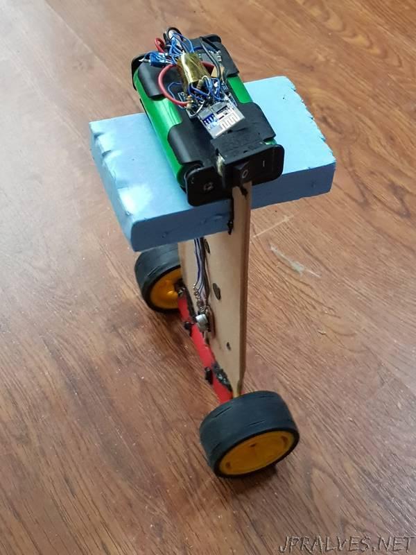 Building ESP-1 Balancing Robot
