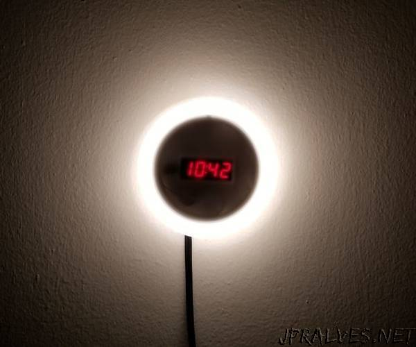 DIY Light Alarm Clock
