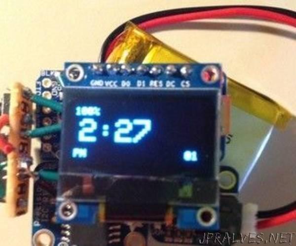 DIY Pro Trinket Smartwatch