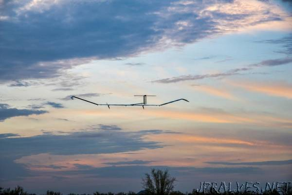 Airbus Zephyr Solar High Altitude Pseudo-Satellite flies for longer than any other aircraft during its successful maiden flight