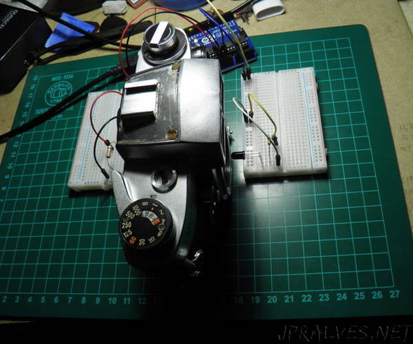 Arduino Film Camera Shutter Checker