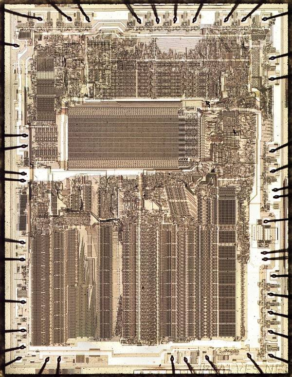 Inside the die of Intel's 8087 coprocessor chip, root of modern floating point
