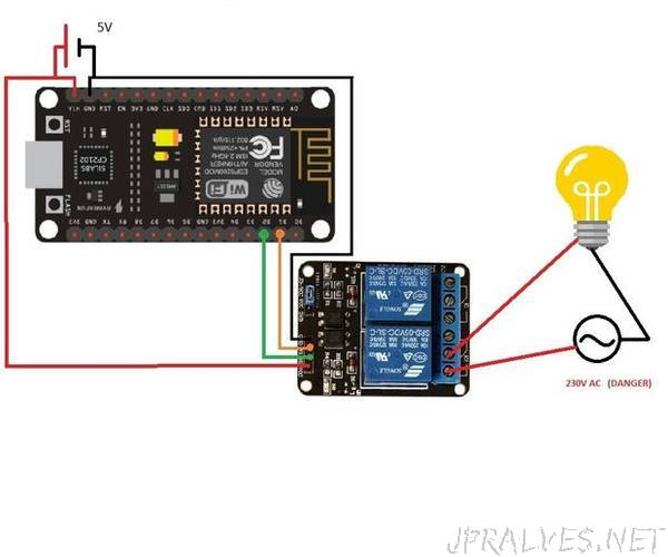 DIY Voice/Internet Controlled Home Automation and Monitoring Using ESP8266 and Google Home Mini