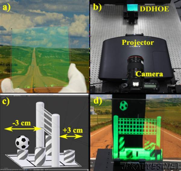 Holography, Light-Field Technology Combo Could Deliver Practical 3-D Displays