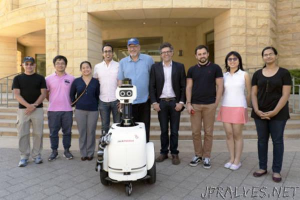 Stanford's JackRabbot 2: The polite pedestrian robot