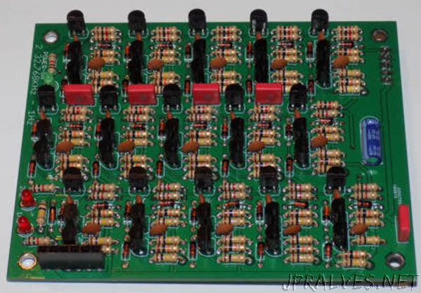 Transistor logic clock MkII