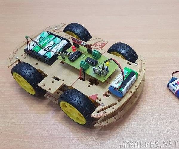 Gesture Controlled Wireless Car