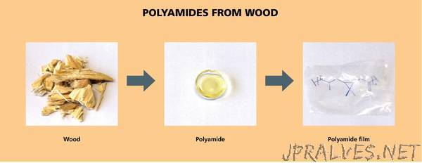 A transparent and thermally stable polyamide - 100 percent biobased