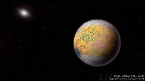 Newfound Dwarf Planet 'The Goblin' May Lead to Mysterious Planet Nine
