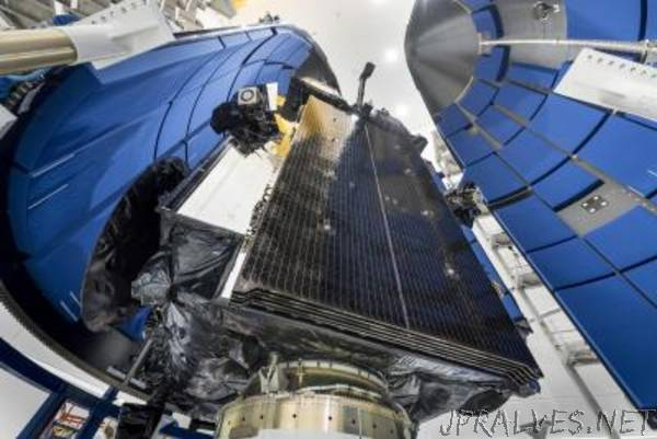 Lockheed Martin-Built Advanced Extremely High Frequency Satellite Packed And Prepared To Join The Constellation