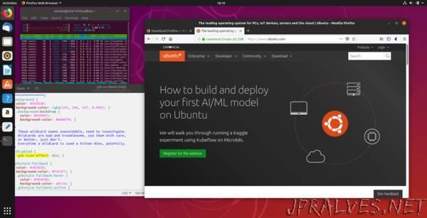 Ubuntu 18.10:Multi-cloud,new desktop theme & enhanced snap integration