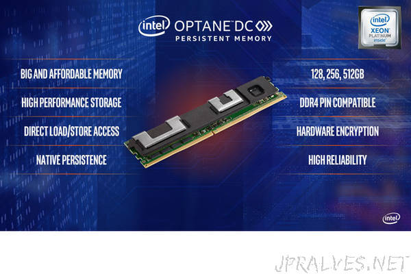 Intel Optane DC Persistent Memory Readies for Widespread Deployment
