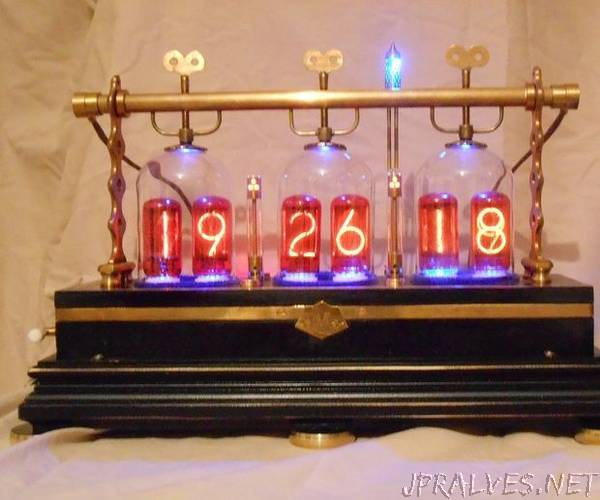 The Victorian Tantalus Nixie Clock