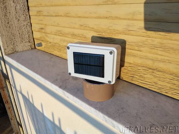 WiFi Solar Weather Station (v2.0)