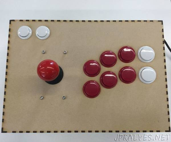 Arcade Stick for PC and Raspberry Pi
