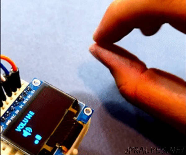Motion and Gesture Detection by Arduino and PIR Sensor