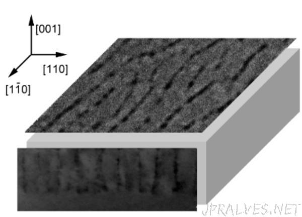 Iron-Rich Lamellae in the Semiconductor