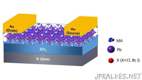 Technique Allows Integration of Single-Crystal Hybrid Perovskites Into Electronics