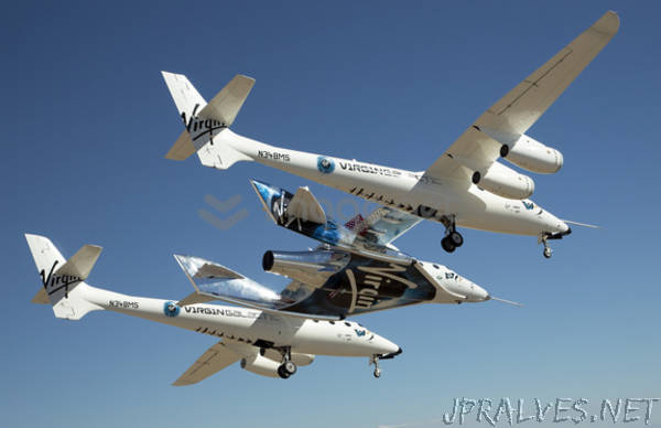 Richard Branson Welcomes Astronauts Home from Virgin Galactic's Historic First Spaceflight