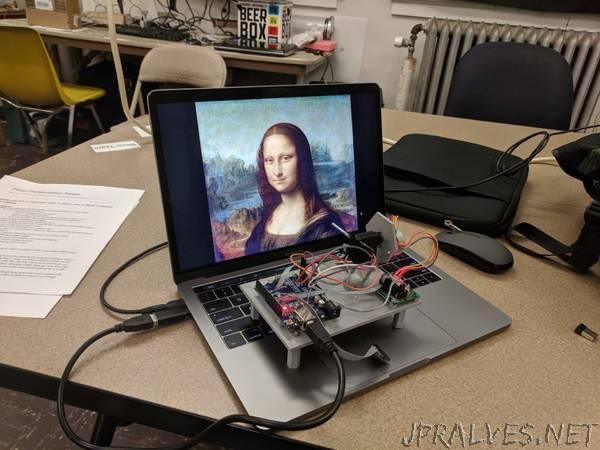 Build a single-pixel scanning camera with an RGB sensor