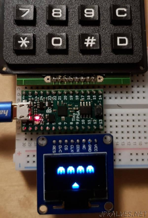 CHIP-8 console on FPGA