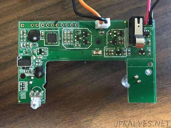 Running Arduino firmware on a GOJO LTX-7 Soap Dispenser