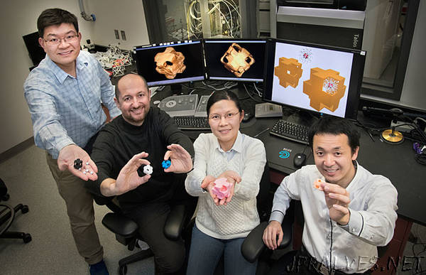 """Carrying and Releasing Nanoscale Cargo with """"Nanowrappers"""""""