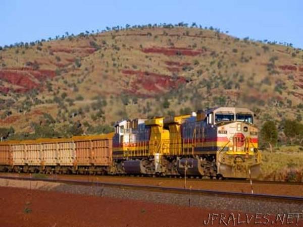World-first autonomous trains deployed at Rio Tinto's iron ore operations