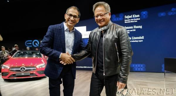 Mercedes-Benz, NVIDIA to Create New AI Architecture for Mercedes Vehicles