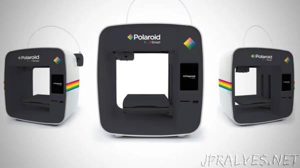 Polaroid unveils brand-new 3D printer for the UK and Europe at CES 2019