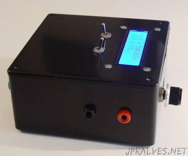 Arduino CAP-ESR-FREQ Meter