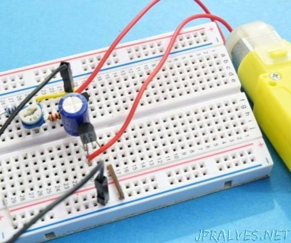 PWM Controller Using Transistors