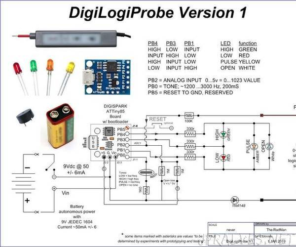 DigiLogiProbe V1