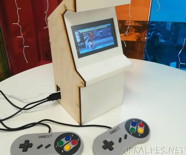 Create Your Own Mini Arcade Machine!