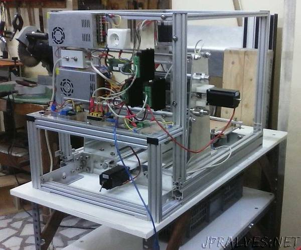 Desktop DIY CNC Router - Arduino Based
