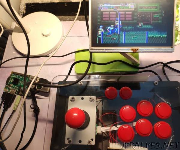Retropie Pi Mini Arcade Pi-man - jpralves net